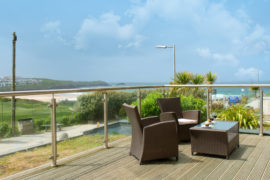 Holiday Rental – Fistral View, 3 Cribbar, Newquay, Cornwall – Beaches and Sea